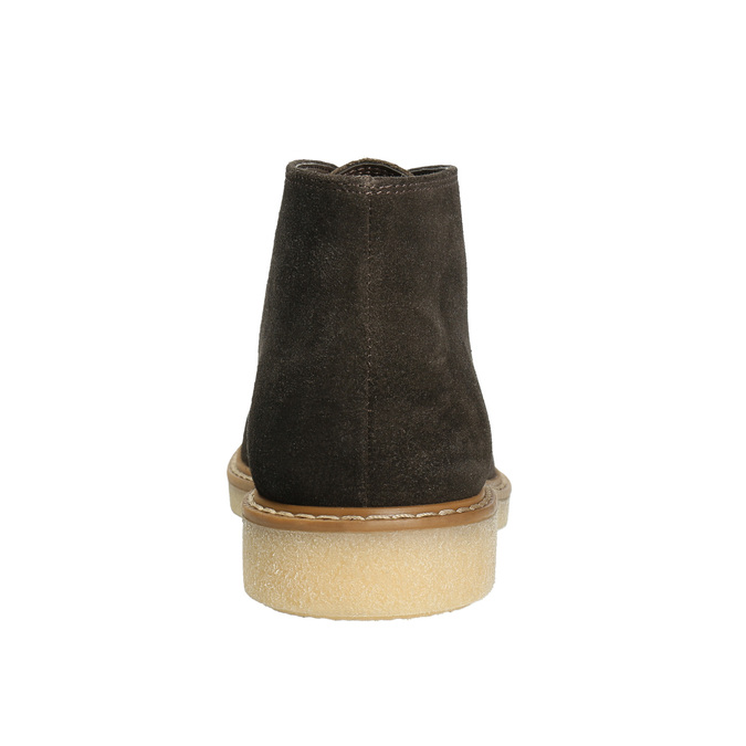 Dámske kožené Desert Boots bata, hnedá, 593-4608 - 17