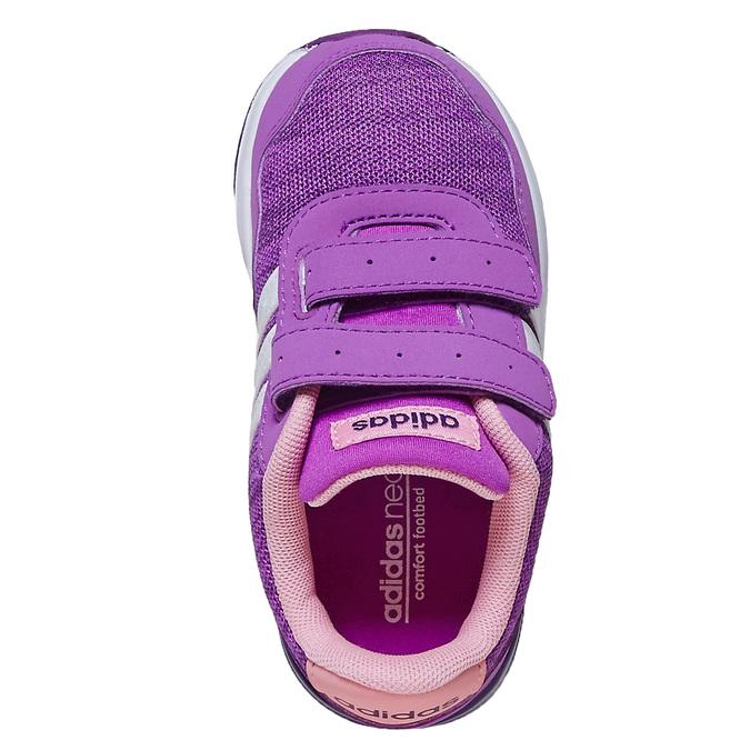 Detské fialové tenisky adidas, fialová, 109-5157 - 19