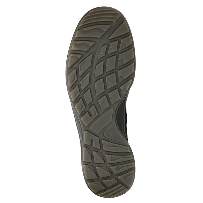 Kožená pánska obuv weinbrenner, hnedá, 846-4647 - 17