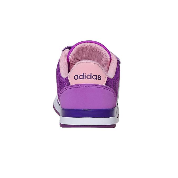 Detské fialové tenisky adidas, fialová, 109-5157 - 17