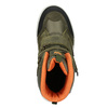 Detská zimná obuv z kože weinbrenner-junior, zelená, 493-7612 - 15
