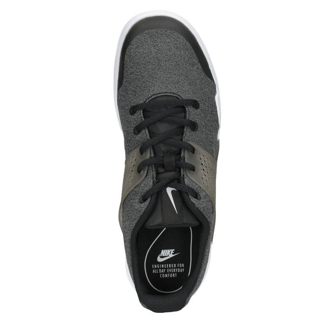 Pánske tenisky s výraznou podrážkou nike, čierna, 809-6185 - 15