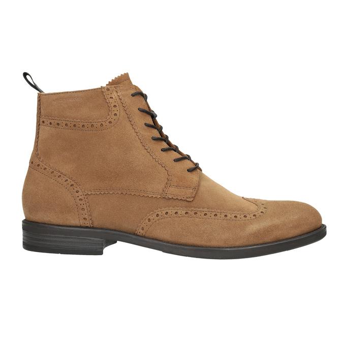 Kožená pánska členková obuv vagabond, hnedá, 823-3016 - 26