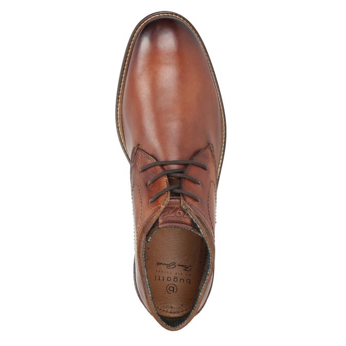 Kožená pánska členková obuv bugatti, hnedá, 826-3005 - 15