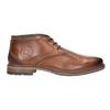 Kožená pánska členková obuv bugatti, hnedá, 826-3005 - 26