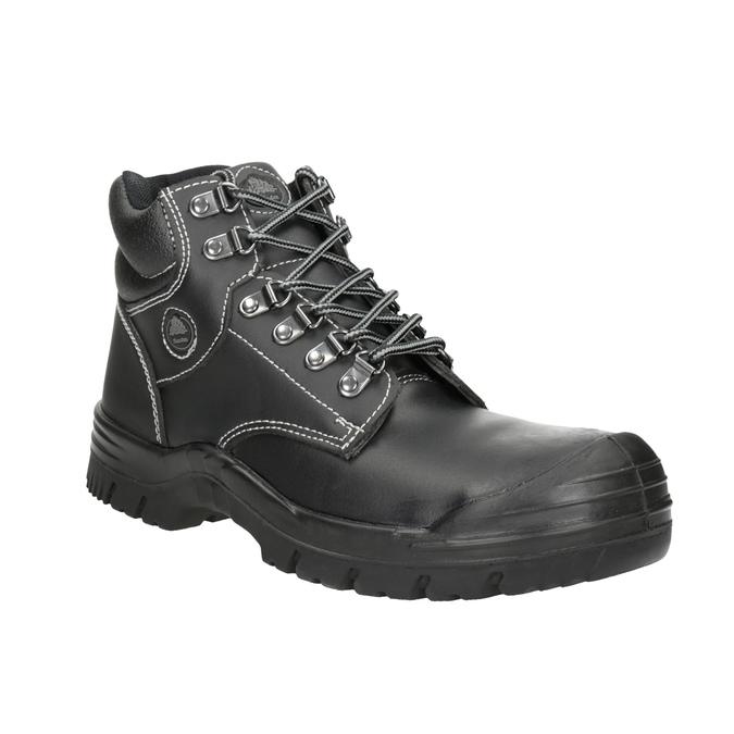 Pánska pracovná obuv Stockholm 2 KN S3 bata-industrials, čierna, 844-6645 - 13