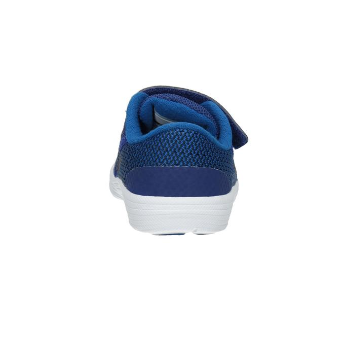 Modré detské tenisky nike, modrá, 109-9132 - 16