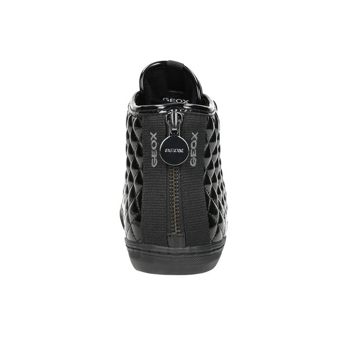 Dámske členkové tenisky geox, čierna, 521-6047 - 16