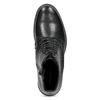 Kožená členková dámska obuv vagabond, čierna, 524-6010 - 17