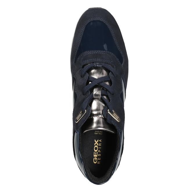 Dámske modré tenisky geox, modrá, 623-9042 - 15