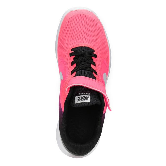 Ružové dievčenské tenisky nike, ružová, 309-5132 - 15