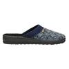 Pánska domáca obuv bata, modrá, 879-9611 - 15