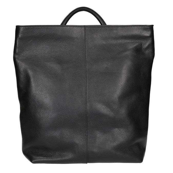 Kožený dámsky batoh bata, čierna, 964-6272 - 26