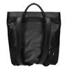Kožený dámsky batoh bata, čierna, 964-6272 - 16