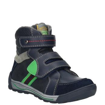 Členková detská zimná obuv mini-b, modrá, 291-9627 - 13