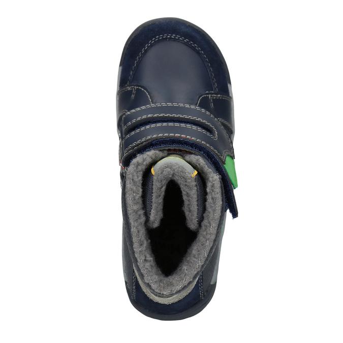 Členková detská zimná obuv mini-b, modrá, 291-9627 - 15