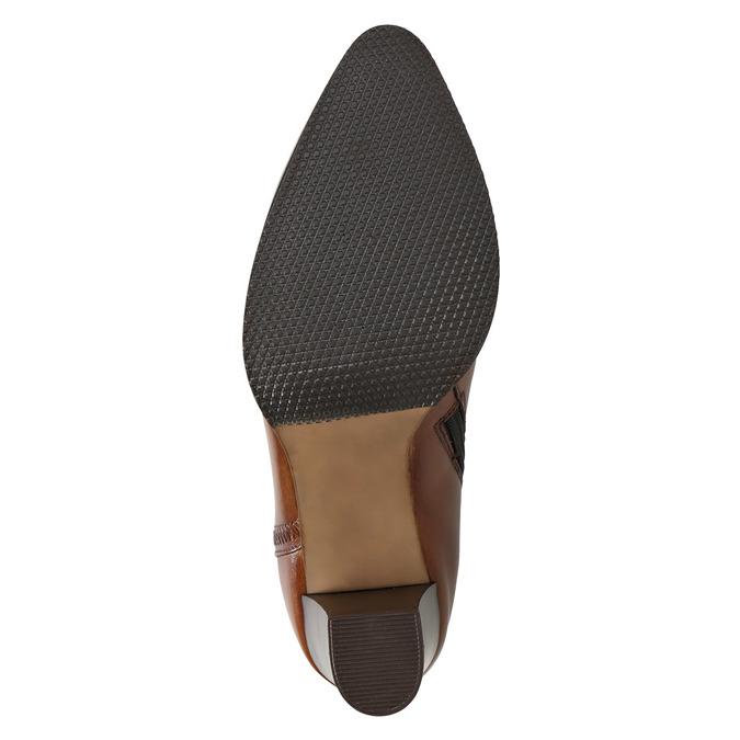 Kožená členková obuv bata, hnedá, 794-4650 - 19