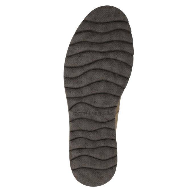 Kožená pánska zimná obuv weinbrenner, hnedá, 896-3700 - 19