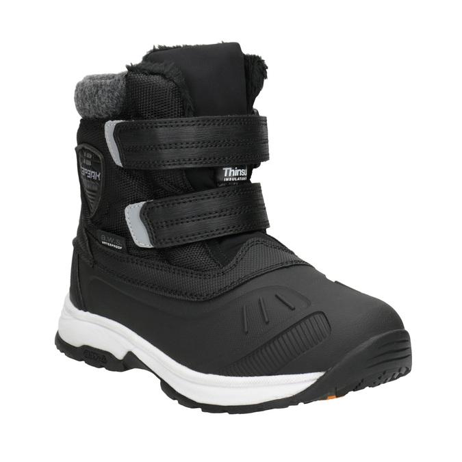 Detská zimná obuv na suchý zips icepeak, čierna, 399-6018 - 13