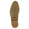 Pánska kožená členková obuv bata, modrá, 826-9920 - 17