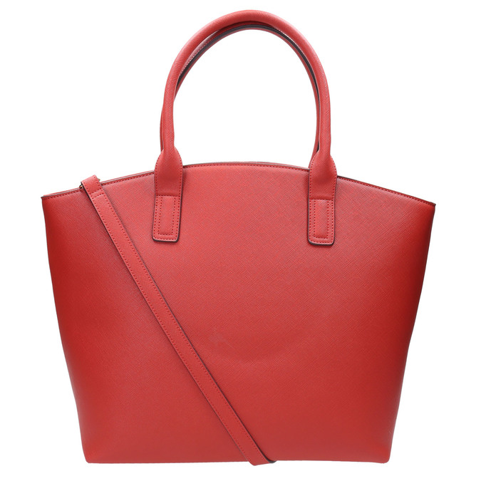 Dámska červená kabelka bata, červená, 961-5821 - 26