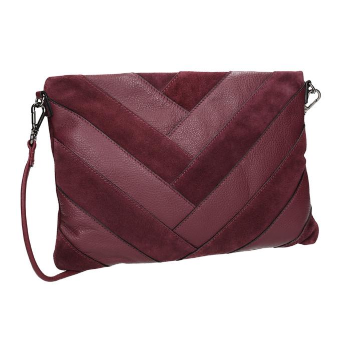 Vínová Crossbody kabelka bata, červená, 964-5265 - 13