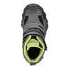 Detská obuv na suchý zips mini-b, šedá, 299-2616 - 26