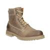 Hnedá kožená členková obuv weinbrenner, 896-8702 - 13