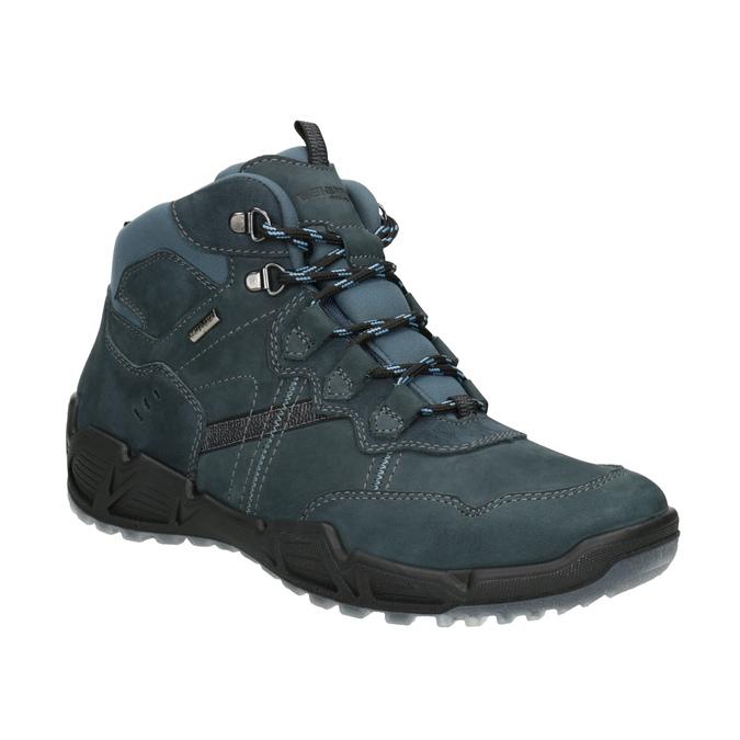 Kožená obuv v Outdoor štýle weinbrenner, modrá, 896-9671 - 13