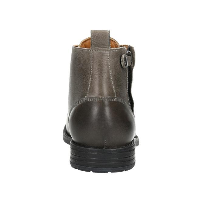 Členková pánska Ombré obuv bata, šedá, 896-2684 - 17
