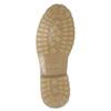 Hnedá kožená členková obuv weinbrenner, 896-8702 - 17