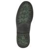 Kožená členková obuv bata, šedá, 896-2686 - 19