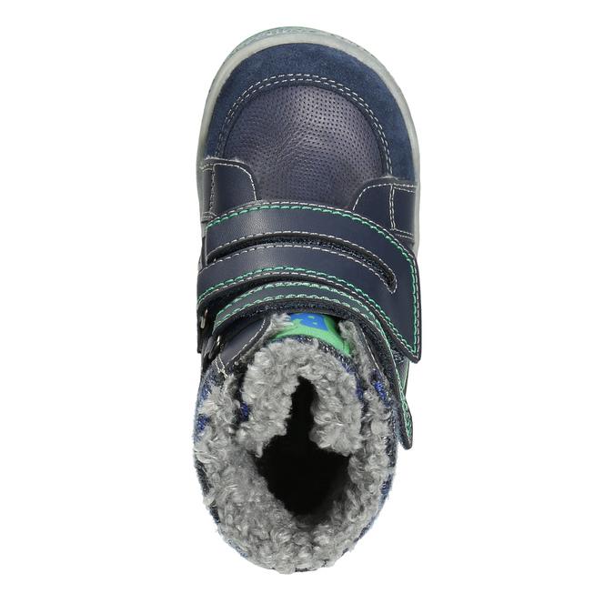 Detská zimná obuv so zateplením bubblegummers, modrá, 114-9611 - 26