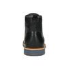 Pánska kožená členková obuv bata, čierna, 896-6667 - 17