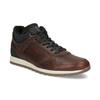 Kožená zimná obuv bata, hnedá, 846-4646 - 13