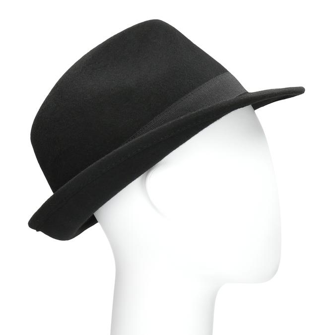 Čierny klobúk bata, čierna, 909-6674 - 13