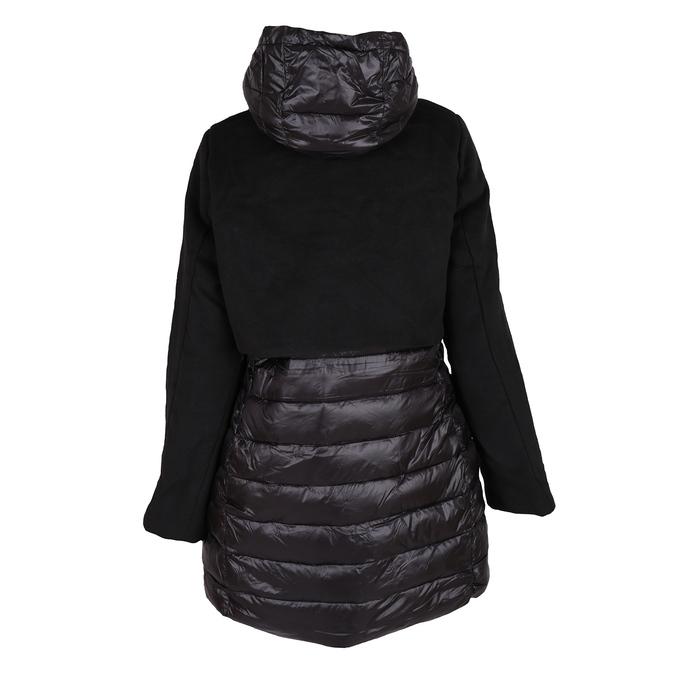 Dámska bunda s kapucou bata, čierna, 979-6163 - 26