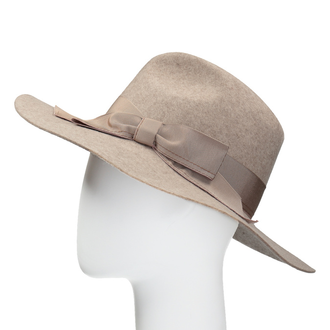 Dámsky vlnený klobúk tonak, béžová, 909-8651 - 26