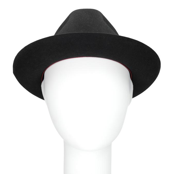 Čierny pánsky klobúk tonak, šedá, 909-2646 - 16