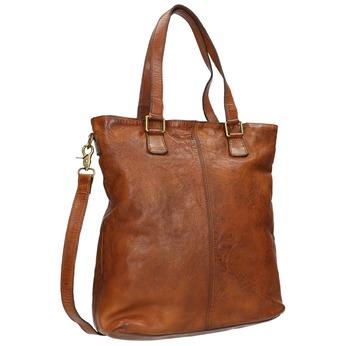 Kožená dámska kabelka bata, hnedá, 964-3245 - 13