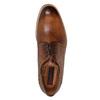 Kožené pánske Brogue poltopánky conhpol, hnedá, 826-3921 - 15