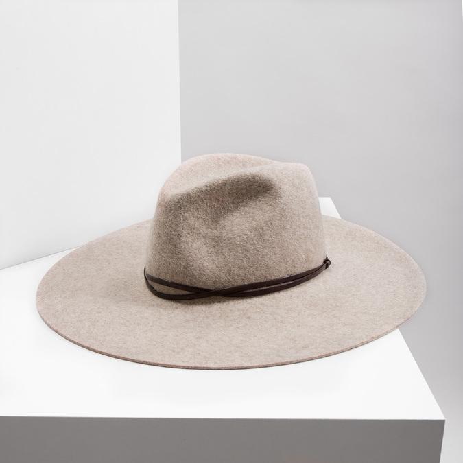 Dámsky vlnený klobúk tonak, béžová, 909-8652 - 18