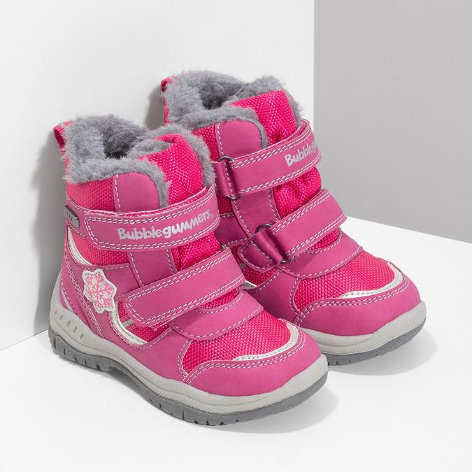 Ružové detské snehule bubblegummers, ružová, 199-5602 - 26