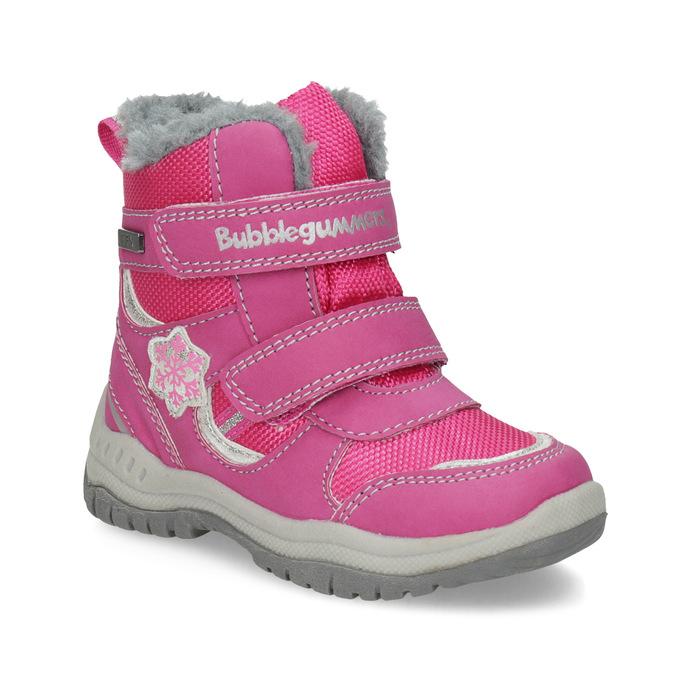 Ružové detské snehule bubblegummers, ružová, 199-5602 - 13