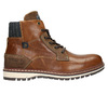 Pánska kožená obuv hnedá bata, hnedá, 896-3666 - 15