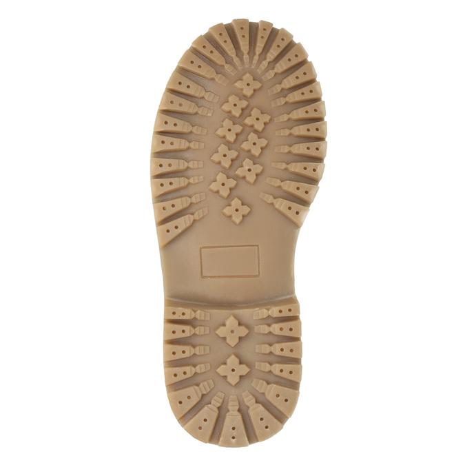 Dievčenská zimná obuv s úpletom mini-b, modrá, 391-9657 - 19