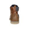 Pánska členková obuv bata, hnedá, 896-3669 - 16