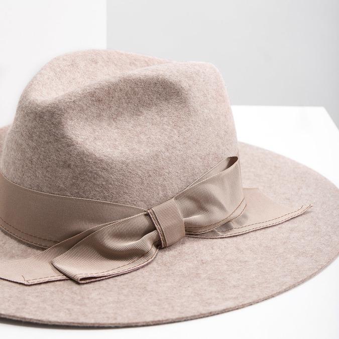 Dámsky vlnený klobúk tonak, béžová, 909-8651 - 14