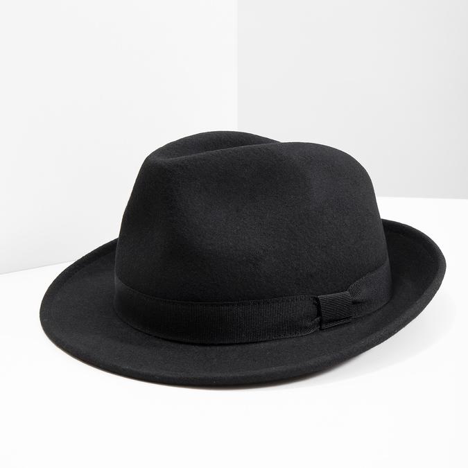 Čierny klobúk bata, čierna, 909-6674 - 18