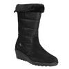 Dámska zimná obuv comfit, čierna, 696-6624 - 13